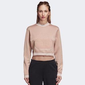 ADIDAS Fashion League Crop Sweatshirt | L